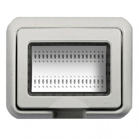 Bticino Placca Stagno IP55 Bianco Light 3 Mod...