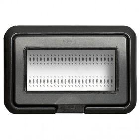Bticino Placca Stagno IP55 Grey Living 4 Mod...