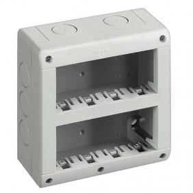 Bticino IP40 housing 8 vertical modules 25408V