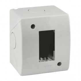 Idrobox Container Ave 1 module for pipe RAL7035...