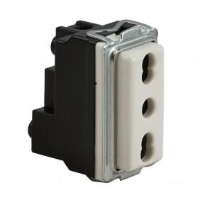 Master series 16000 two-way socket 10/16A 16059
