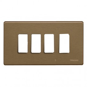 Plate for switches Bticino Magic 4 places...