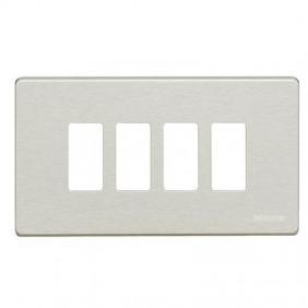 Plaque pour interrupteurs Bticino Magic 4...