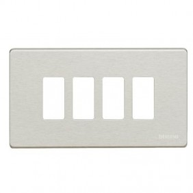 Plate for switches Bticino Magic 4 places Resin...