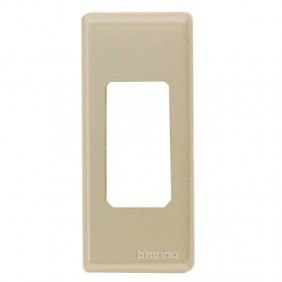 Plate Bticino Magic 1 place aluminum 5367/1X