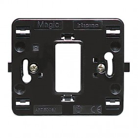 Support Bticino Magic 1 place round box 500S/1