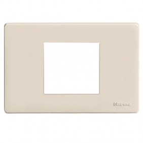 Resin plate Bticino Magic 2 places centered...