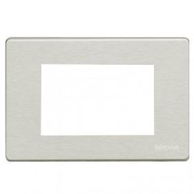 Plate OXIDAL Bticino Magic aluminium 3 Places...