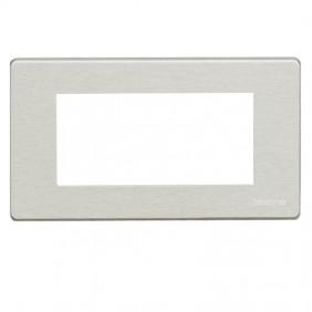 Plaque en aluminium Bticino Magic 4 Places...