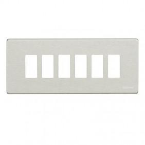 Resin plate Bticino Magic 6 modules 506L/6/R