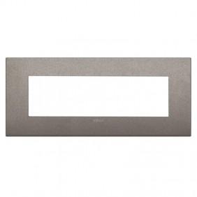 Plate Vimar Arke classic 7 Modules titanium...