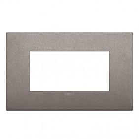 Plate Vimar Arke Classic 4 Modules titanium...