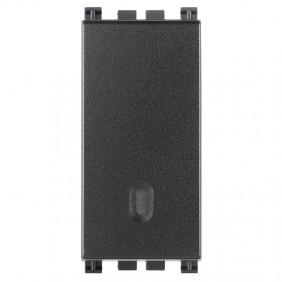 Vimar Arke illuminable push-button 1P 10A grey...