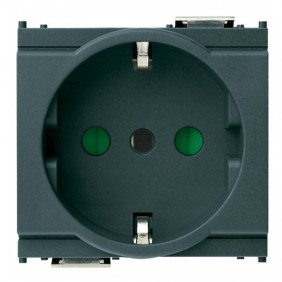 Vimar Idea schuko 16A socket anthracite 16209
