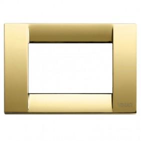 Vimar Idea classic metal plate 3 modules 16733.32