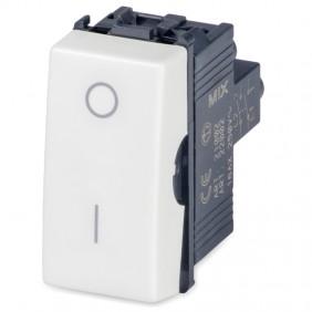 Master Mix double pole switch 2P 16AX white 21002