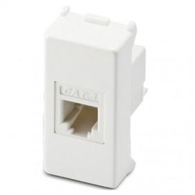 Master Mix telephone jack RJ11 1 plug 6/4 white...