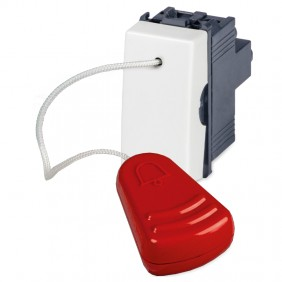 Master Mix pull cord switch white 1P 16A 21030
