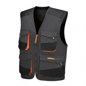 BM vest for electricians TWILL 180gr EASY GREY...