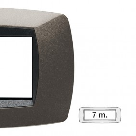 Master plate Modo 7 modules anthracite grey...