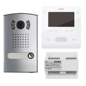 KIT Videocitofono Monofamiliare Elvox 2 Fili...
