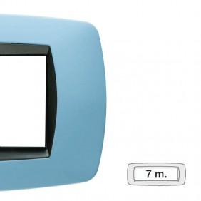 Master plate Modo 7 places light blue soft 39TC727