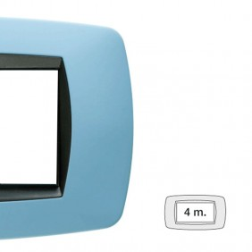Master plate Modo 4 places light blue soft 39TC724