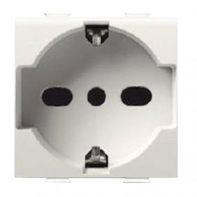 Abb Chiara universal schuko socket 10/16A...