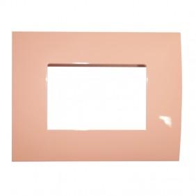 Abb Chiara plate 3 modules orange 2CSK0312CH