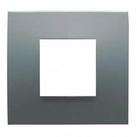 Abb Chiara plate 2 modules stone 2CSK0203CH