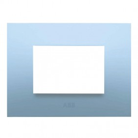 Abb Chiara plate 3 modules light blue pastel...