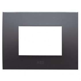 Abb Chiara plate 3 modules volcano 2CSK0304CH