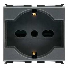 Abb Elos universal schuko socket 10/16A 2CSE1109EL