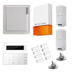 KIT Comelit burglar alarm with central VEDO34...