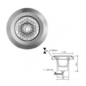 Faretto ad incasso LED Side EYES BASIC B 4,2W...