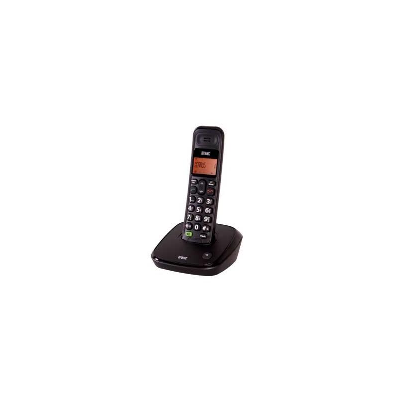 URMET TELEPHONE CORDLESS DECT ICARUS BLACK 4119/1
