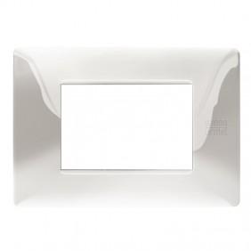 Plate 3 modules Urmet Simon Nea polished...