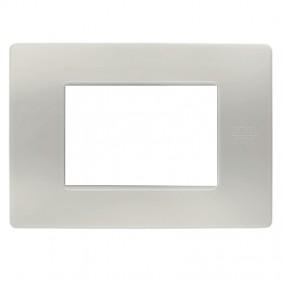 Plate 3 modules Urmet Simon Nea powder 11803.PV