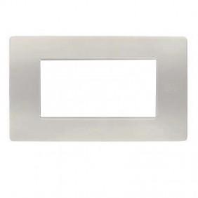 Placca 4 moduli Urmet Simon Nea polvere 11804.PV