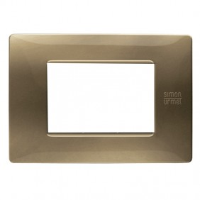 Plate Urmet Simon Nea Flexa 3 modules bronze...