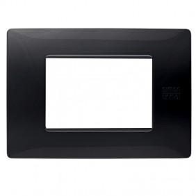Plate Urmet Simon Nea Flexa 3 modules black...