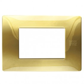 Plate Urmet Simon Nea Flexa 3 modules shiny...