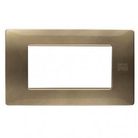 Plate Urmet Simon Nea Flexa 4 modules bronze...