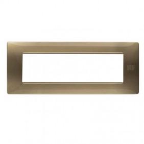 Plate Urmet Simon Nea Flexa 7 modules bronze...