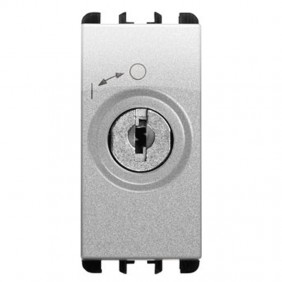 Urmet Simon Nea 2P key switch with aluminium...