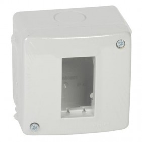 Legrand wall-mounted enclosure 1 place IP40 680601