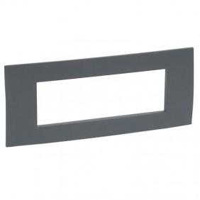 Plate Legrand series Vela square 506 color...