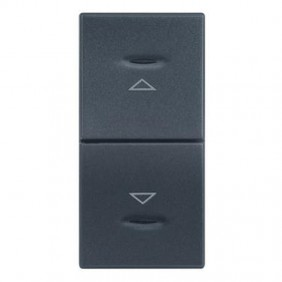 Double button Legrand Vela anthracite with...