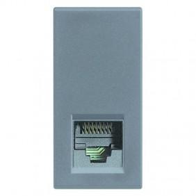 Telephone socket Legrand Vela RJ11 1 module 682787