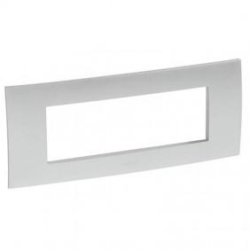 Placca Legrand Vela quadra grigio metallizzato...